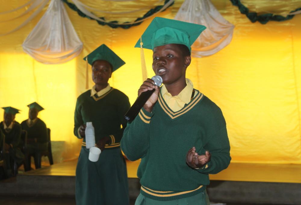 Grad speaking
