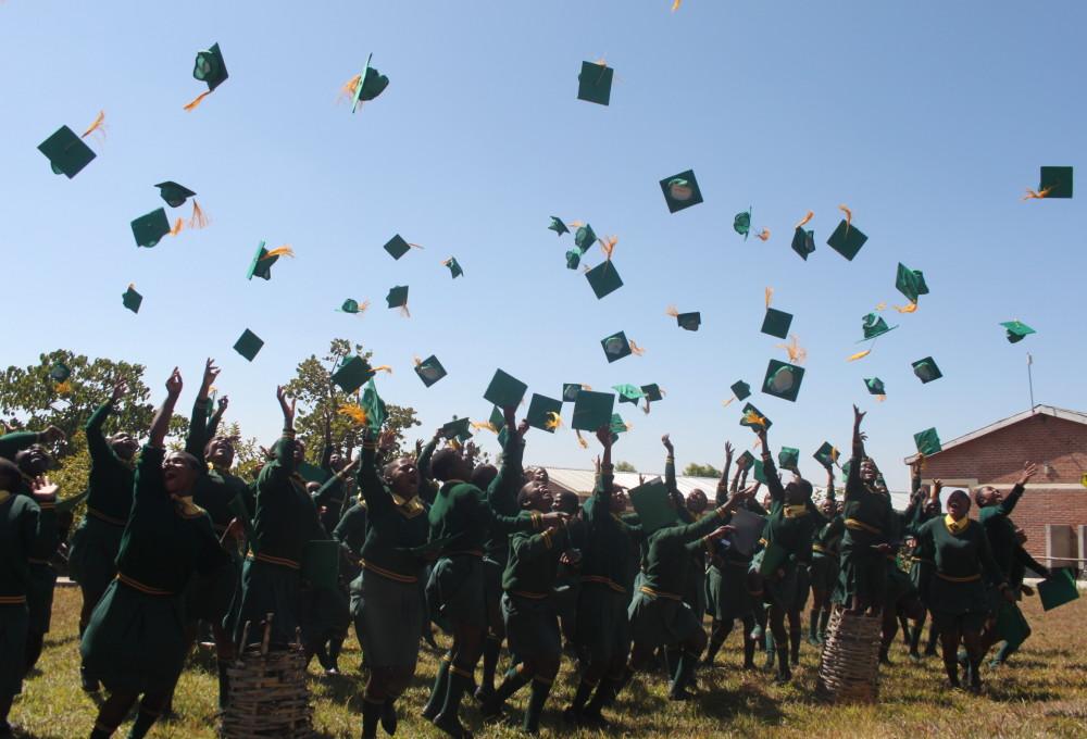 Graduate Hat Throw