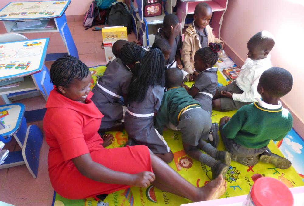 Kids in Primary