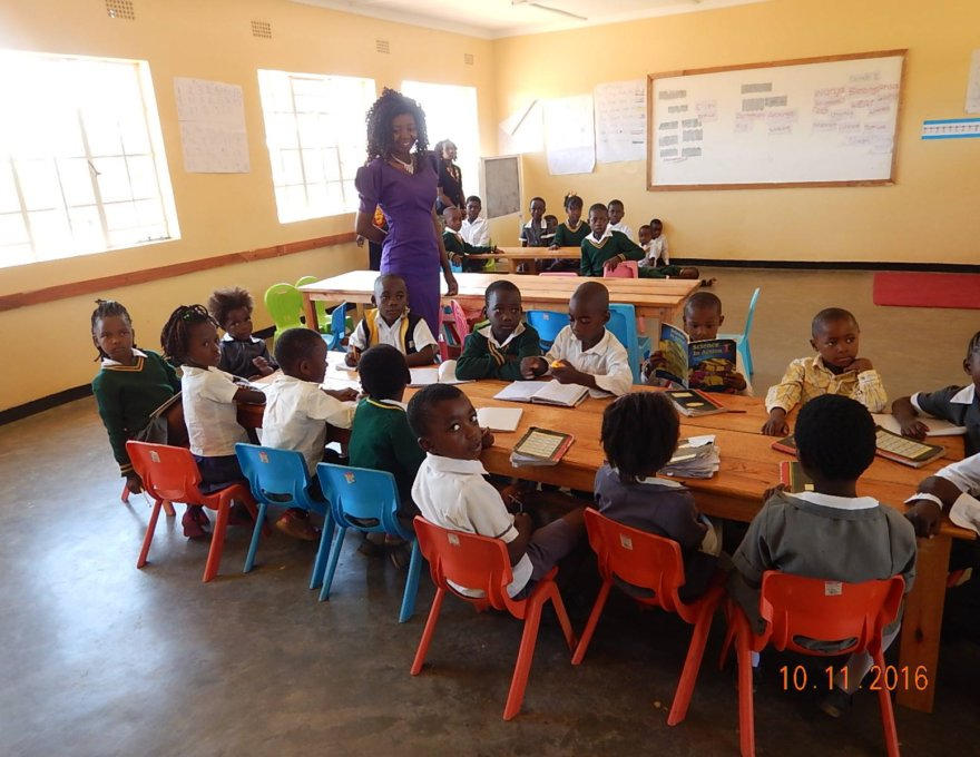 Pats Visit to APU – Primary School